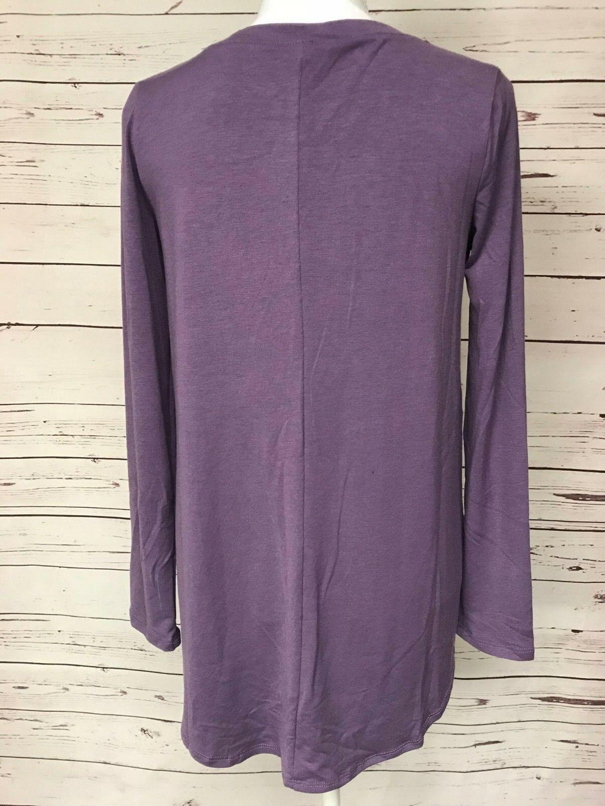 Zenana Purple Tee S M L