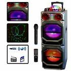 QFX PORTABLE BATTERY POWERED DJ PA BLUETOOTH PARTY SPEAKER w