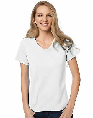 relaxed fit v neck t shirt comfortsoft