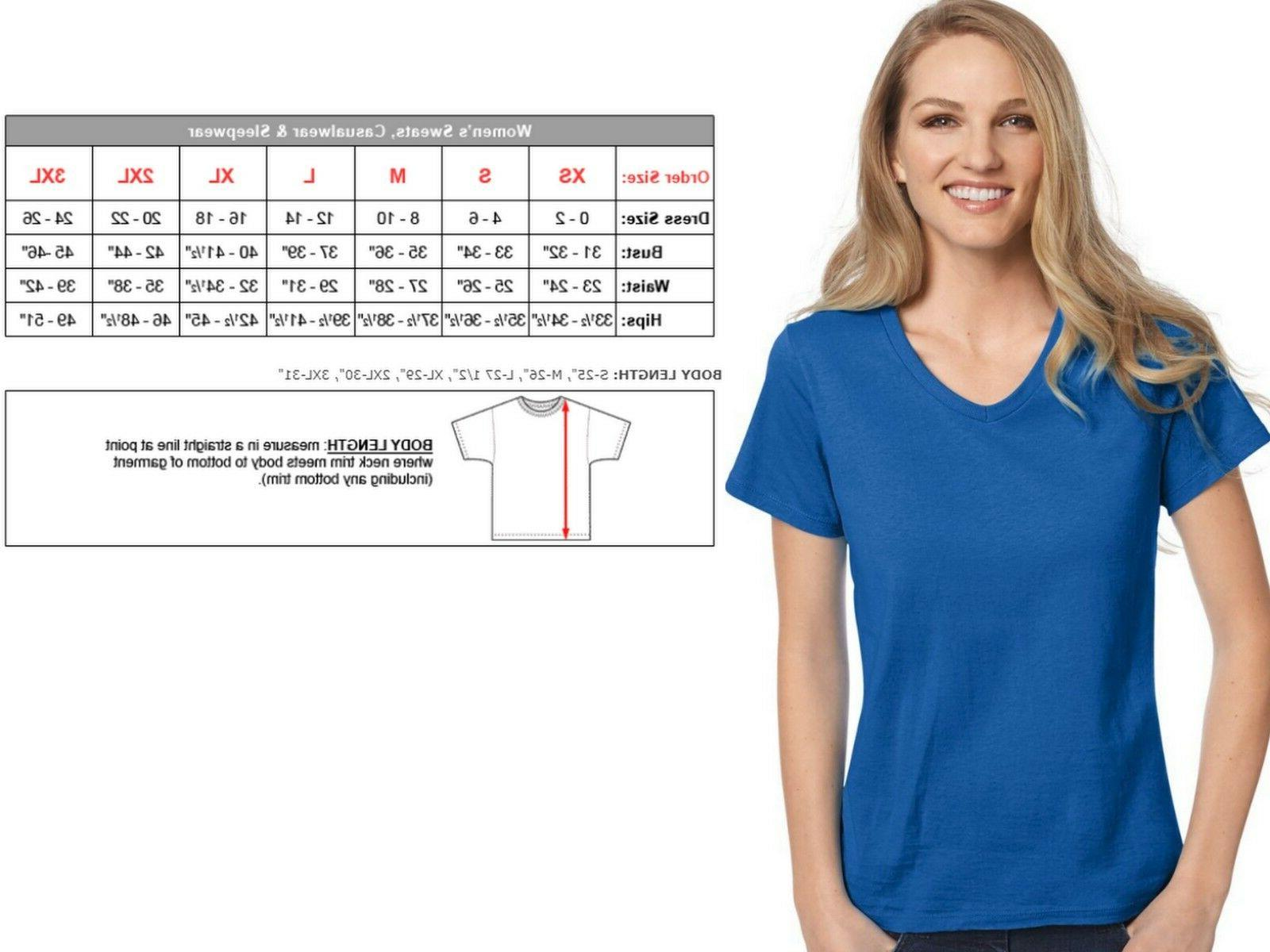 Hanes Relaxed V-neck -- TWO -- 5780