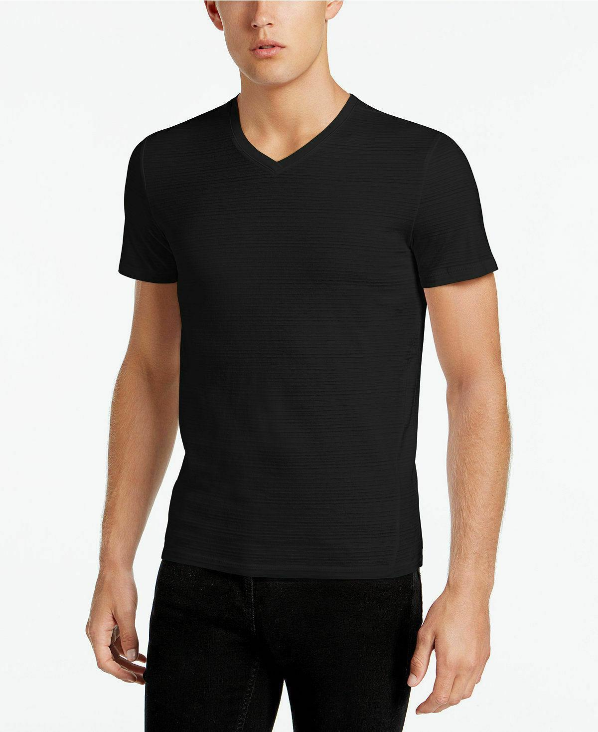sale men s cotton v neck slub