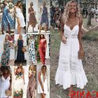 Summer Womens Boho Maxi Dress Lady Evening Cocktail Party Be