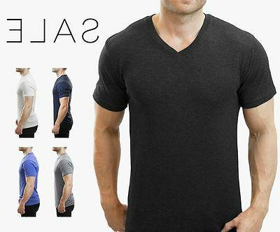 Next Level Tri Blend V Neck Mens T Shirts  Premium Athletic