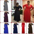 Women Dress For Party Evening Cocktail Long Maxi Dress V Nec