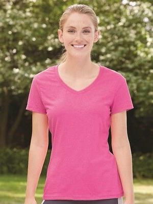 Hanes - X-Temp Women's V-Neck T-Shirt - 42V0