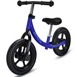 Maxtra Lightweight Balance Bike No Pedal Bicycle Adjustable