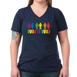 love is love women s v neck