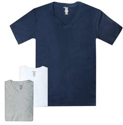 Lucky Brand Men's V-Neck Cotton Undershirt T-Shirt