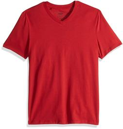 Perry Ellis Men's Big and Tall Stretch Pima Cotton V-Neck, H