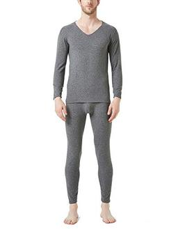Warmfort Men's Casual Soft Cotton Thermal Underwear, Mens Cl