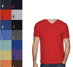 Polo Ralph Lauren Men's Classic Fit Short Sleeve V-Neck Tee