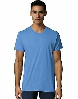 Hanes Men's Nano V Neck T-Shirt Short Sleeve Ringspun Cotton