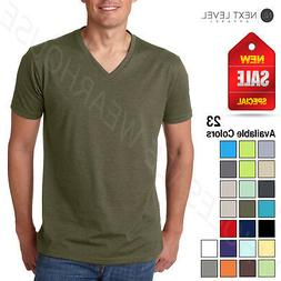 Next Level Men's Premium CVC V-Neck Soft S-XL T-Shirt R-6240