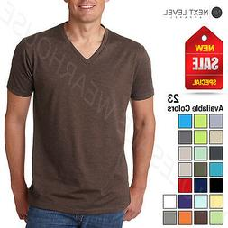 Next Level Men's Premium CVC V-Neck Soft 2XL T-Shirt B-6240