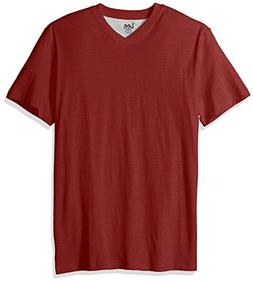 LEE Men's Size Short Sleeve Casual V Neck T Shirt Regular Bi