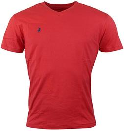 Polo Ralph Lauren Mens Classic Fit Solid V-Neck T-Shirt - M