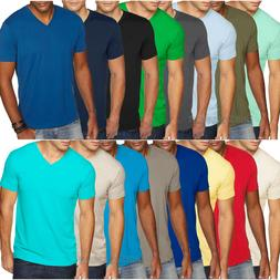 Next Level Mens Premium Fitted Sueded V Neck Tee T Shirt XS-
