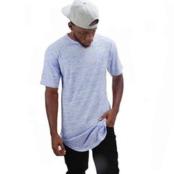 Mens T-Shirt ! Charberry Mens Solid Color Slim Short-Sleeve