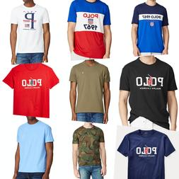 Polo Ralph Lauren Mens Tee T Shirts Crewneck V-Neck Various