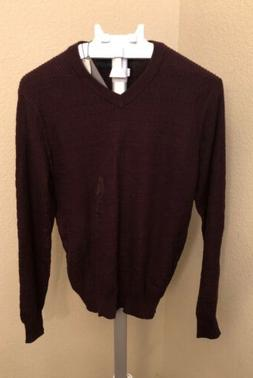 Perry Ellis Mens V-Neck  Port Sweater Size Small 622