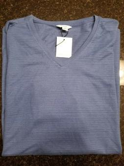Calvin Klein Mens V-neck Slim-Fit Shirt Brand New With Tags