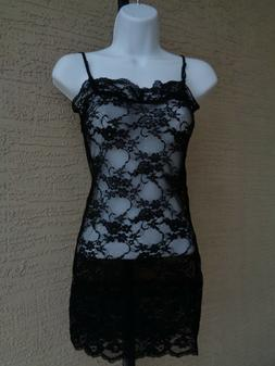 New Zenana Outfitters M  Lace V Neck Adjustable Strap Cami B