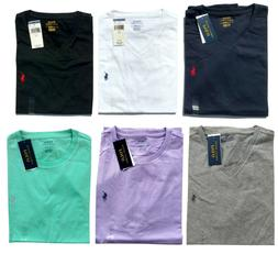 NEW Men's Polo Ralph Lauren V NECK T Tee Shirt New Size S M