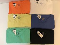 NEW Polo Ralph Lauren Men's V-Neck Classic-Fit T-Shirt Tee S