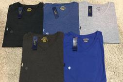 NEW POLO RALPH LAUREN V NECK T SHIRT TEE MENS MSRP 49.50 BIG