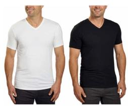 NWT Men's Calvin Klein 3 Pack V Neck T-Shirts Classic Fit Co