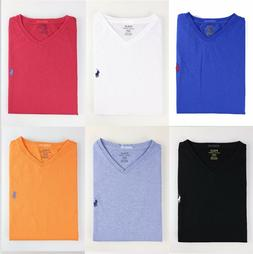 NWT Polo Ralph Lauren Men V-Neck Modern Classic-Fit T-Shirt