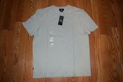 nwt mens v neck storm gray short