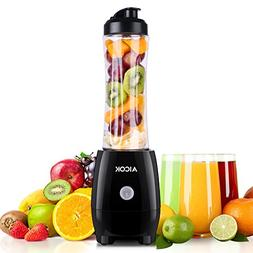 Personal Blender Aicok Smoothie Blender with Travel Portable