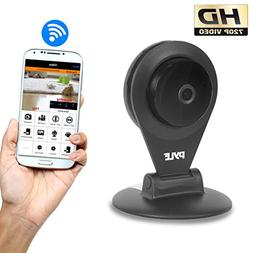 Indoor Wireless Security IP Camera - HD720p Home WiFi Remote