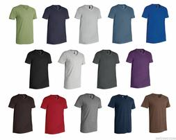 Next Level Premium Men's V-Neck T-Shirt Ultra Soft Basic Pla