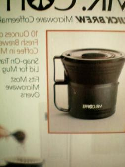 Mr. Coffee Quick Brew Personal Coffee Maker -- 10 ounces of