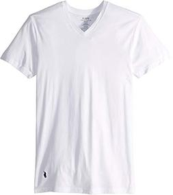 Polo Ralph Lauren Slim Fit Cotton T-Shirt 3-Pack, L, White