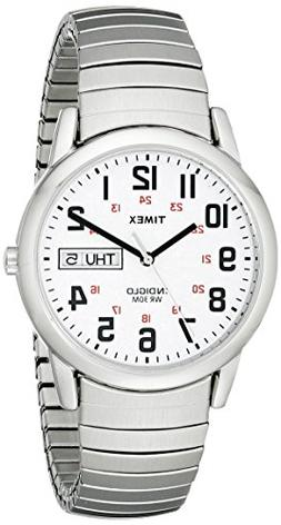 Timex Men's T20461 Easy Reader Silver-Tone Stainless Steel E