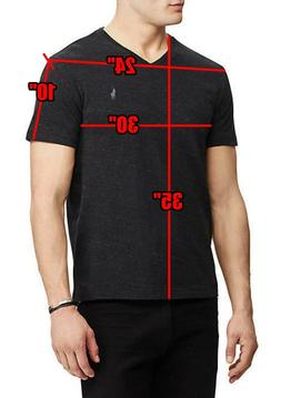 tee t shirt classic fit v neck