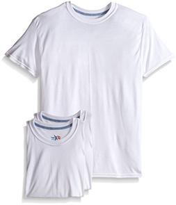 Hanes Men`s X-Temp™ Crewneck 3pack White Undershirt,2535X3