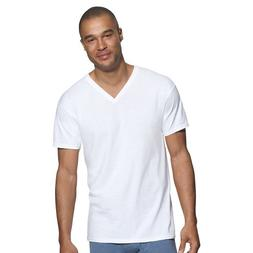Hanes by Classics Men's Traditional Fit V-Neck Undershirt 3-