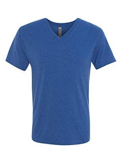 Next Level Men's Tri-Blend V - Vintage Royal