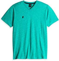 U.S. Polo Assn. Mens Space Dyed V-Neck T-Shirt L- Select SZ/