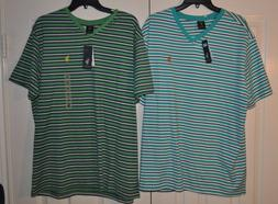 U.S. Polo Assn. Striped V-Neck T-Shirt  Men's sz L,XL Multip