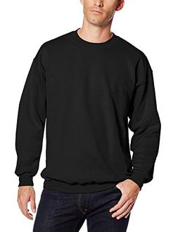 Hanes Men's Ultimate Heavyweight Fleece Sweatshirt, Black, X