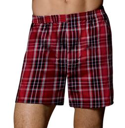 Hanes Ultimate Men's TAGLESS® Tartan Boxers with Comfort Fl