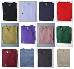 Men Polo Ralph Lauren V-NECK T Shirt Size S M L XL XXL - STA