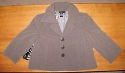 Women's S.e.p.r.a.t.e.s Ny City Designed Brown Blazer Lined