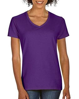 women s softstyle v neck t shirt