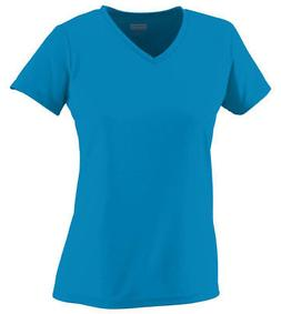Augusta Sportswear Women's V Neck Moisture Wicking Short Sle